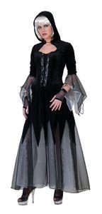 Kostüm Hexe Zombie Halloween Dame 36-38