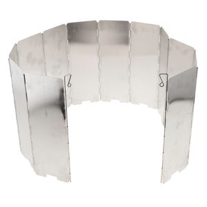 Universal Windschutz Campingküche Spritzschutz aus Aluminiumlegierung