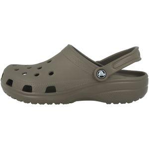 crocs S CLASSIC 10001 Sandalen Braun Schuhe, Größe:37-38
