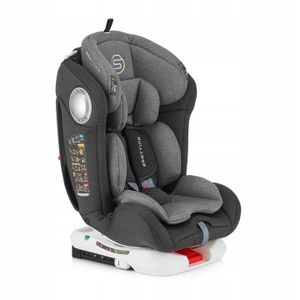 Autokindersitze  Sesttino Massiv Gray Kindersitz 0-36 kg ISOFIX 360°