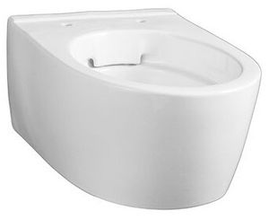 Geberit Wand-Tiefspül-WC iCon Rimfree, verkürzte Ausladung, geschlossene Form weiß
