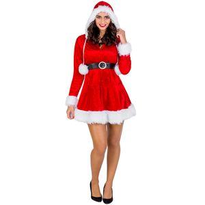 dressforfun Frauenkostüm Mrs. Santa Claus - L