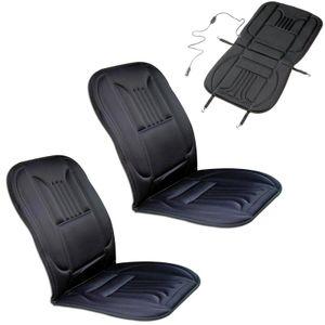 2x Pro Auto beheizbare Sitzauflage Sitzheizung 3 Heizstufen schwarz a. Sportsitz