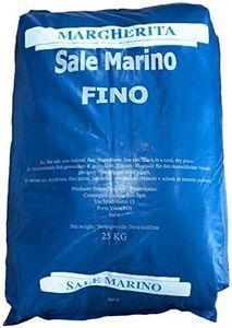 well2wellnessMarino Meersalz Natursalz ohne Zusätze - Feines Natursalz für Schwimmbäder und Beauty Anwendungen im 25kg Sack