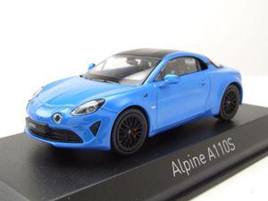 Alpine Renault A110 S 2019 blau Modellauto 1:43 Norev
