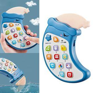 1 Stück Baby-Handy-Spielzeug Farbe Blau