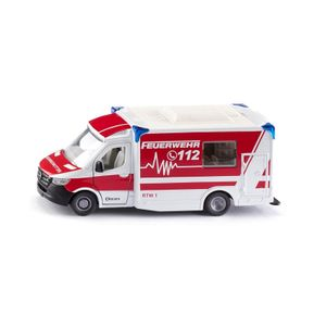 """Siku 2115 Mercedes Sprinter """"Miesen"""" Typ C Rettungswagen Maßstab 1:50"""
