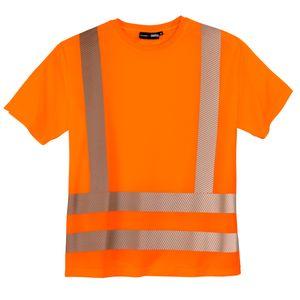 Abraxas Warnschutz T-Shirt große Größen neonorange, Größe:7XL