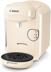 CYE Tassimo Vivy2 Kapselmaschine TAS1407 Kaffeemaschine by Bosch, ber 70 Getrnke, vollautomatisch, geeignet fr alle Tassen, platzsparend, 1300 W, creme