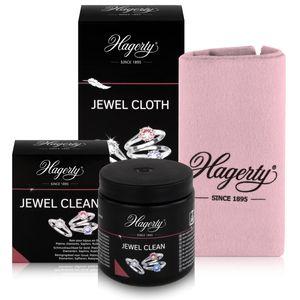 Hagerty Jewel Clean & Cloth - Schmucktauchbad 170ml & Pflegetuch