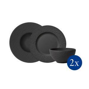 Villeroy & Boch Manufacture Rock Starter Set 6tlg. EC 1042398950