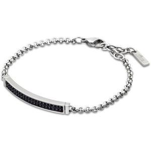 LOTUS LS1344-2-6 Damen Armband STYLE Edelstahl schwarz 21,5 cm