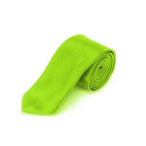 Oblique Unique Krawatte Schlips schmal Binder Style - neon grün