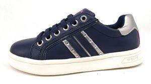 Geox J DJRock Mädchen Sneaker in Blau, Größe 37