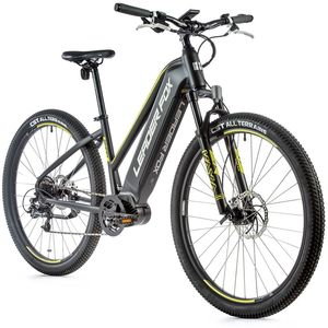 29 Zoll Alu E-Bike Leaderfox SWAN Lady Pedelec MTB M300 80 Nm LG 540 Wh Schwarz Gelb RH 46cm