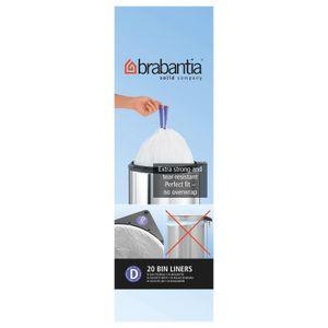 Brabantia Müllbeutel/Mülltüte 15 l (D), 20 Stück