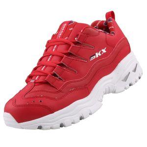 Skechers Damen Sneaker ENERGY RETRO VISION Rot, Schuhgröße:EUR 36