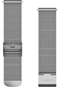 Garmin - Ersatz-/Wechselarmband - Ersatzarmband 20mm für Vivomove Silber-Milanese - 010-12924-23