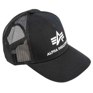 Alpha Industries Cap Basic Trucker, Größe:ONESIZE, Farben:black
