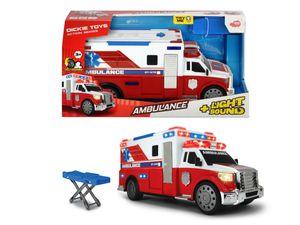 Auto als Krankenwagen / Ambulanz 33cm Dickie