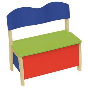 Roba Kindertruhenbank farbig/natur