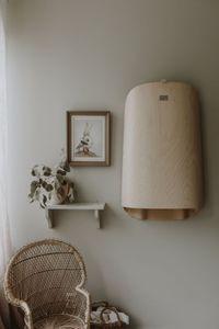 Holzwickeltisch Nathi Klappbar - byBo design - Aus Buchenholz inklusive Auflage, Farbe:Weiß