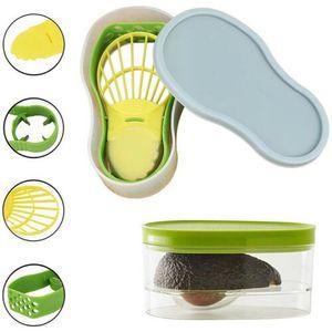 5-in-1 Avocado Slicer Set Fruchtschneider Schäler Kernentferner Multifunktionswerkzeuge@#