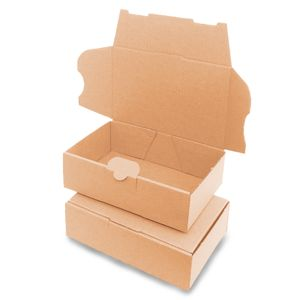 verpacking 5 Maxibriefkartons Versandkartons Faltschachtel Faltkarton Maxibrief 160 x 110 x 50 mm | Braun | MB-1