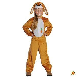 Kinderkostüm brauner Hase Langohr, Größe:116