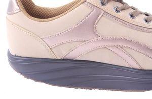 Aktiv Outdoor Schuhe Fitnesschuhe Fitness Sneaker Freizeitschuhe Sportschuhe, Farbe:Beige, Größe:37