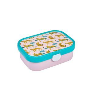 Mepal Rosti Brotdose Campus Bento Einsatz Leopard Tiere Rosa Turkis Lunchbox
