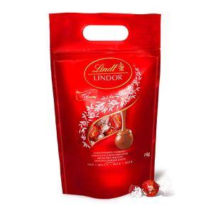 Lindt Lindor Milch Kugeln 1000 Gramm 80 Kugeln Vollmilch-Schokolade