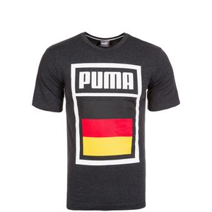 Puma Forever Football Country T-Shirt WM 2018 Kinder Kinder dunkelgrau 152 - L