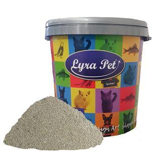15 Liter Lyra Pet® GreyCat® Katzenstreu mit Babypuderduft + 30 L Tonne