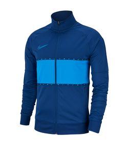 Nike Sweatshirts Dry Academy Jkt I96 GX K Granatowo Niebieska BQ1505 407, BQ1505407, Größe: S