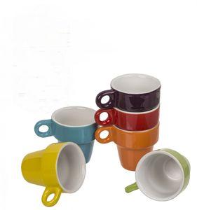 Out of the blue Keramik-Espressotassen-Set