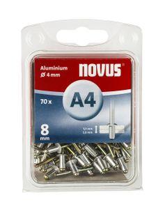 Novus Blindniete A 4 X 8 ALU 70ST  045-0032