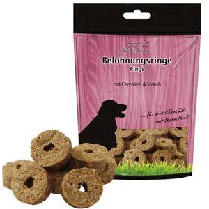Hundeleckerlies mit Cerealien und Straußfleisch 500g Weich auch für Welpen