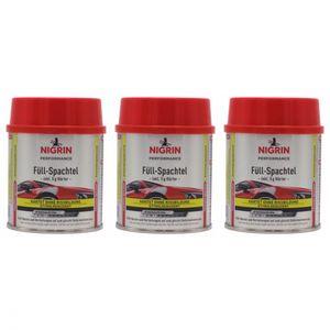 NIGRIN Füll-Spachtel 250 g Karrosseriesreparatur 72110 - Anzahl: 3x