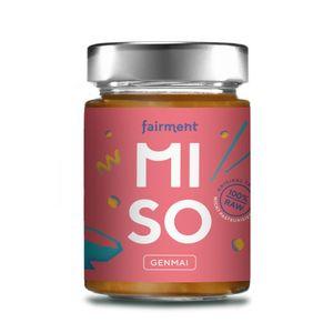 """Miso """"Genmai"""" - unpasteurisierte Misopaste im Glas 200g"""
