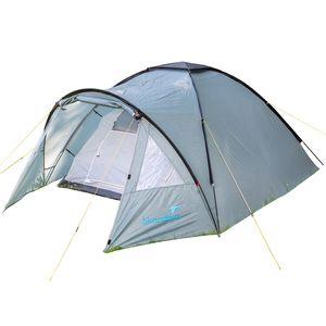 Skandika Trekking-Zelt Dale 3 Personen | Kompakt aber großzügig geschnitten | Schlafkabine mit Fenster | Atmungsaktiv |