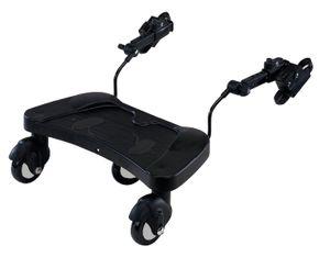 Buggyboard, Kiddyboard, Trittbrett für Kinderwagen, Babyblume B-Board
