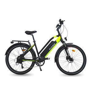 "Viena Urbanbiker Trekking E-Bike 28""  840Wh Akku, Unisex E-Trekkingbike 350W Motor, 160km Reichweite | Farbe:gelb"