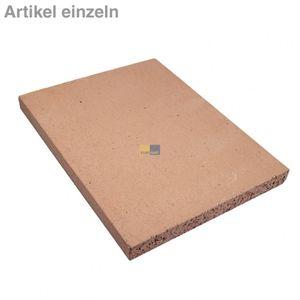 Pizzastein Brotbackstein Schamottstein lebensmittelecht 400x300x30mm für den Backofen