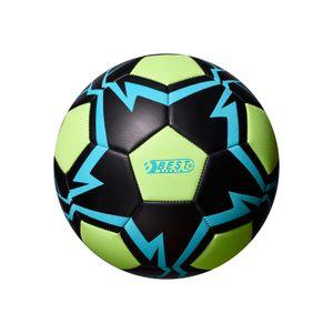 Best Sporting Fußball Glow In The Dark, Größe 5, Farbe:blau/grün