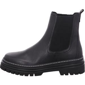 Gabor Chelsea Boot  Größe 7.5, Farbe: schwarz (weiss)