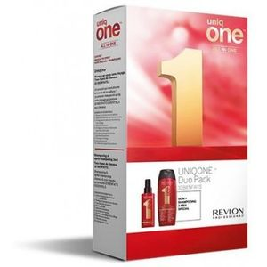 Revlon Uniq One All In One Hair Treatment Geschenkset 300ml Shampoo + 150ml Classic Hair Treatment