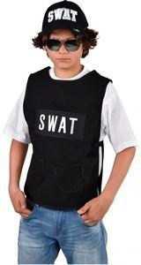 Magic Design strickjacke SWAT Jungen Polyester schwarz Größe 116
