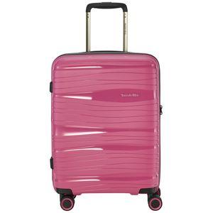 Travelite Motion 4-Rollen 4-Rad Boardcase Kabinen Handgepäck Trolley 55 cm, Farbe:Marine