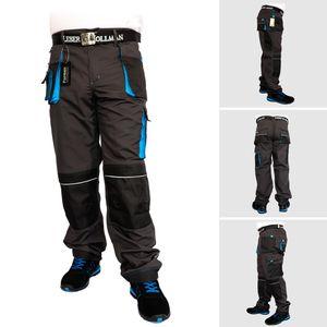 Arbeitshose Bundhose Arbeitskleidung Schutzkleidung Grau Schwarz Blau Gr.52